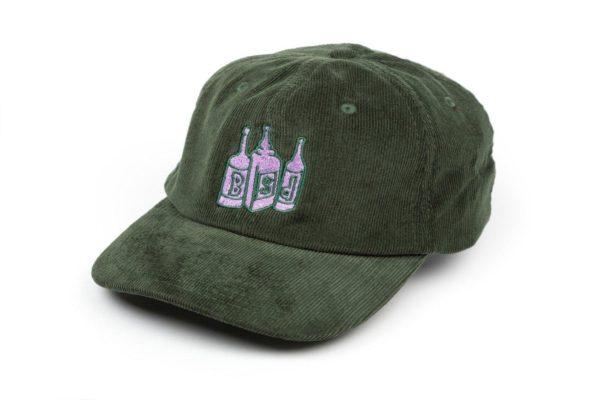 bsd apparel hat 6panelcord bottlecap green 001 1500x