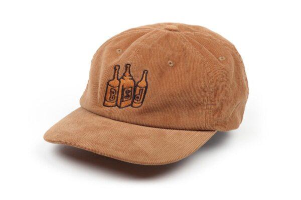 bsd apparel hat 6panelcord bottles camel 001 1500x