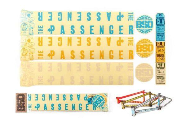 BSD Passenger 2015 стікерпак | BIKESTUFF