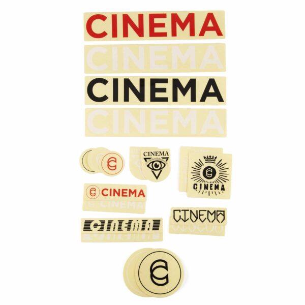 Cinema 2020 стікерпак   BIKESTUFF
