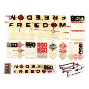 BSD Freedom 2020 стикерпак | BIKESTUFF